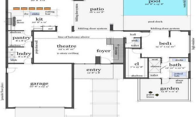 Beach House Floor Plans Design Modern Small
