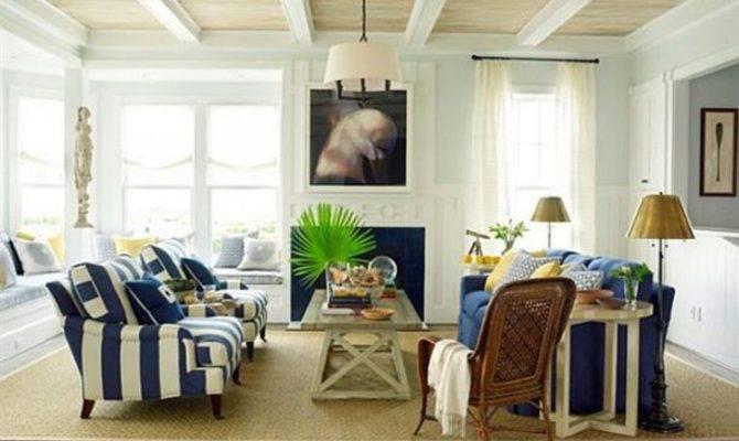 Beach House Interior Design Living Room Home Decorating