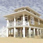Beach House Plans Narrow Lot Plan
