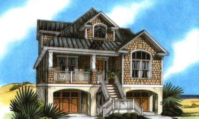 Beach House Plans Pilings