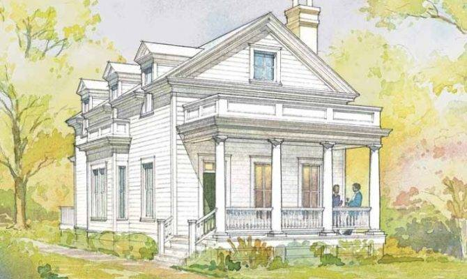 Beaufort Cottage House Plan Southern Living