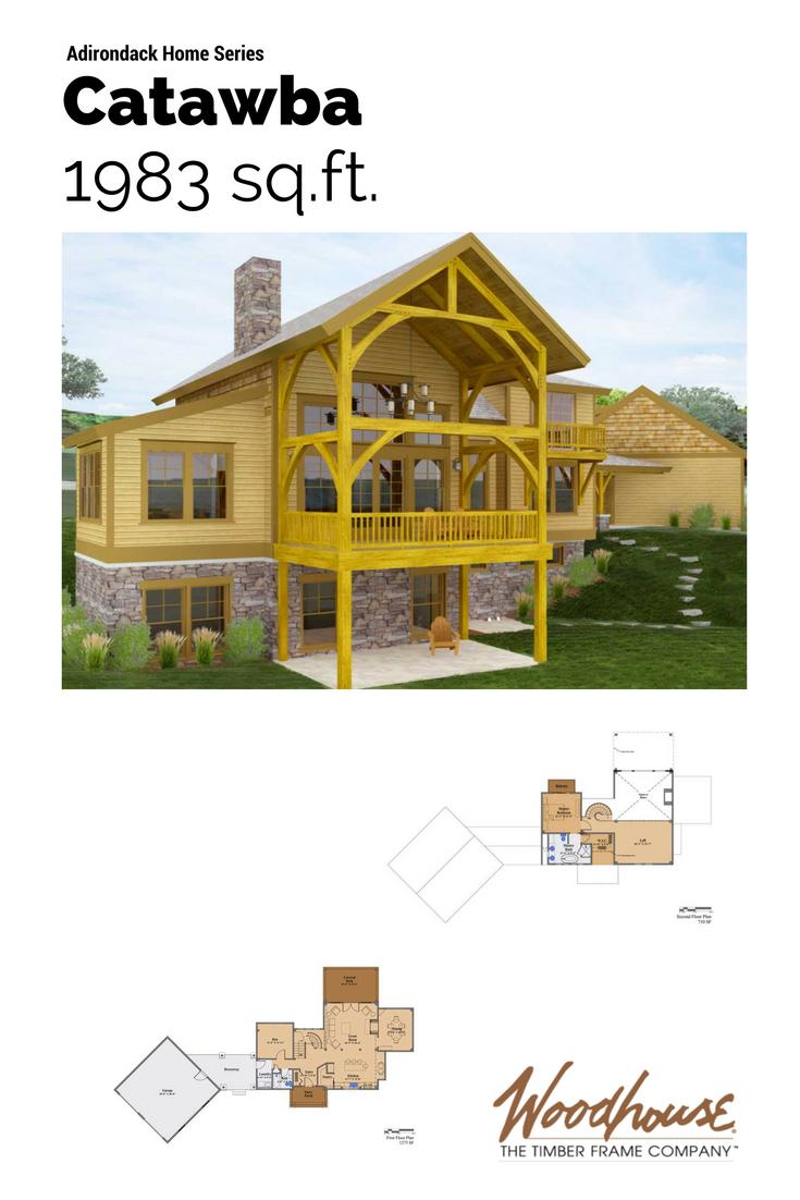 Beautiful Adirondack Style Home Plans Slide