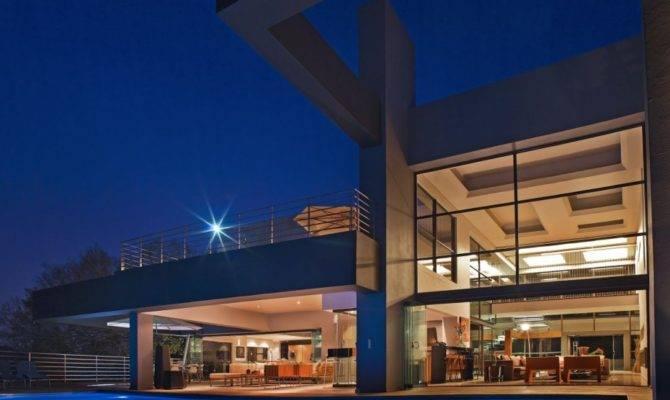 Beautiful Architecture House Pool Johannesburg