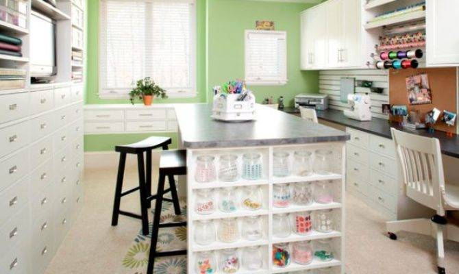 Beautiful Craft Room Interior Design Ideas Make Work