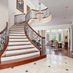 Beautiful Curved Staircase Texas Luxury Stairs