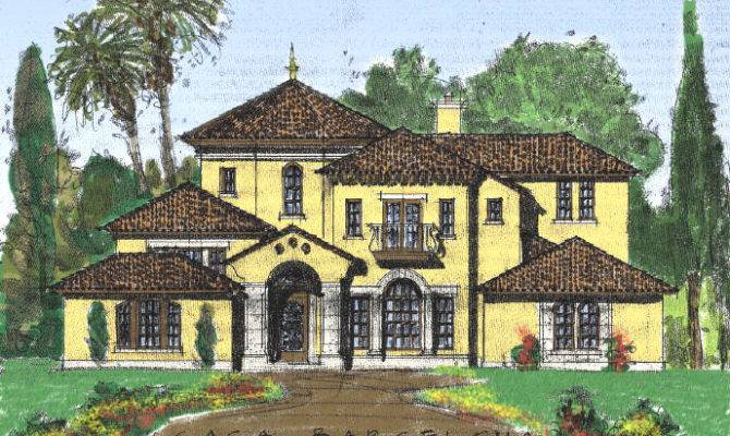 Beautiful Custom Home Plans Traditional Classical European Styles