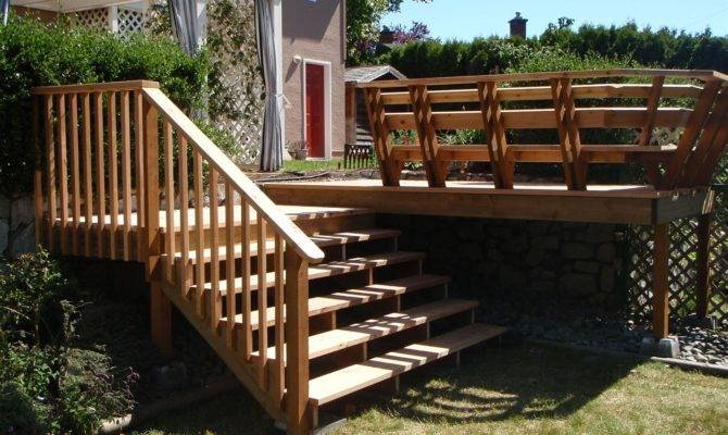 Beautiful Deck Stairs Ideas New Home Design
