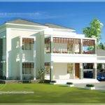 Beautiful Double Storey Modern Villa Exterior Home Kerala Plans