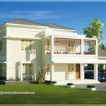 Beautiful Double Storey Modern Villa Exterior Indian House Plans