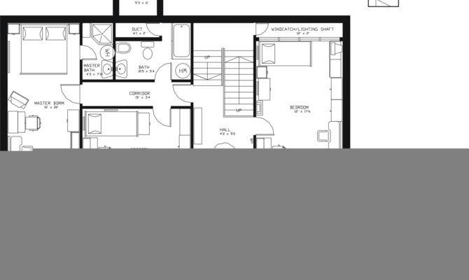 Beautiful Earth Contact House Plans Sheltered