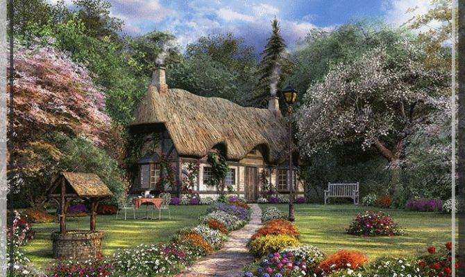 Beautiful English Countryside Fairytale Cottages Country