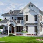 Beautiful European Style Modern House Kerala Home Design Floor