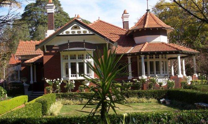 Beautiful Federation Queen Anne Style Homes House Plan