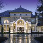 Beautiful French European Mediterranean Luxury Homes Plans