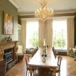 Beautiful Grand Dining Room Inside House Belonging
