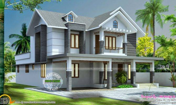 Beautiful Home Design Kerala