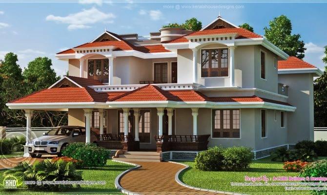 Beautiful Home Exterior Square Feet House Design
