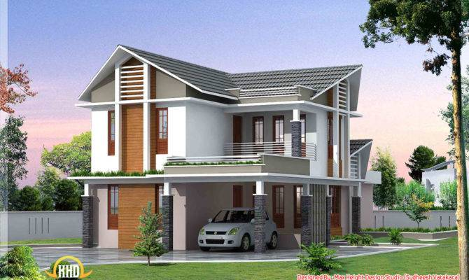 Beautiful Kerala Style House Elevations Home