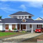 Beautiful Kerala Style Single Floor Villa Architecture House Plans