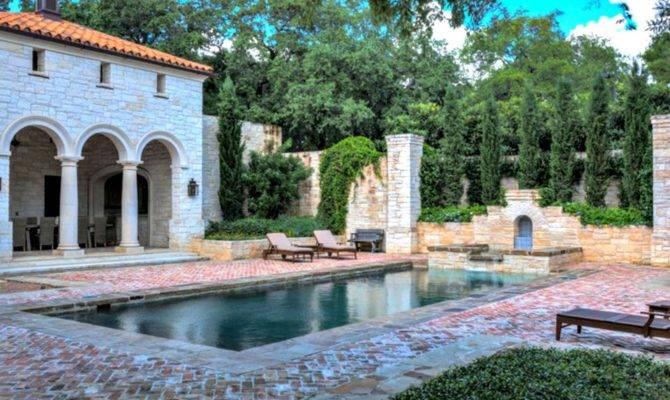 Beautiful Mediterranean Pool Designs