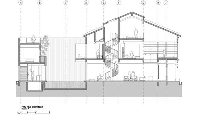 Beautiful Minimalist House Plans Plan Gorgeous Penthouse Design
