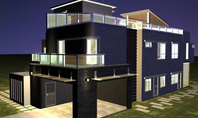 Beautiful Modern Banglows House Design Ideas