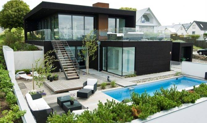 Beautiful Modern Beach House Designed Minimalist Interior Design