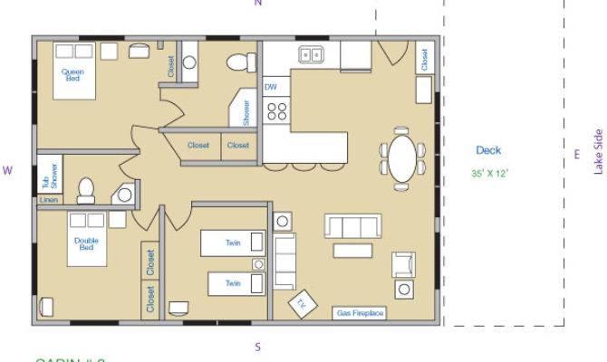 Beautiful Modern Bedroom Bungalow Floor Plans Hall