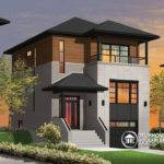 Beautiful Modern Infill House Plans Plan