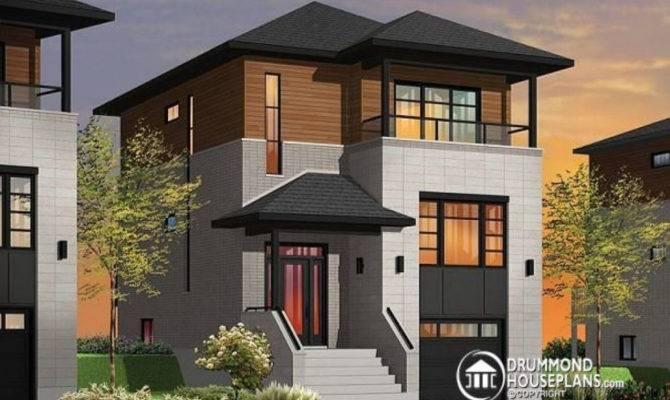 Beautiful Modern Infill House Plans Plan
