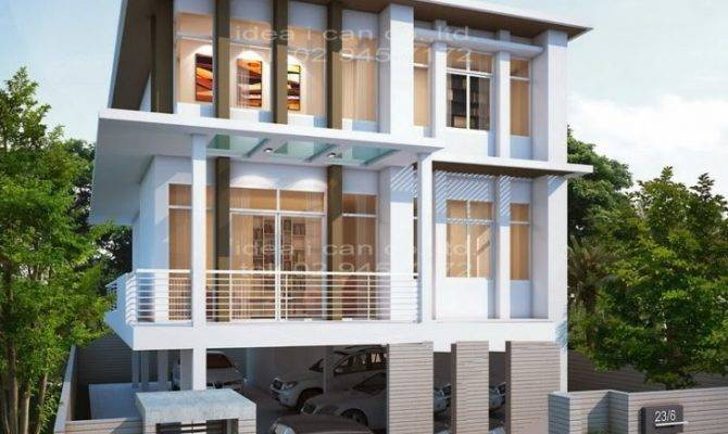 Beautiful Modern Storey House Plans New Home Design