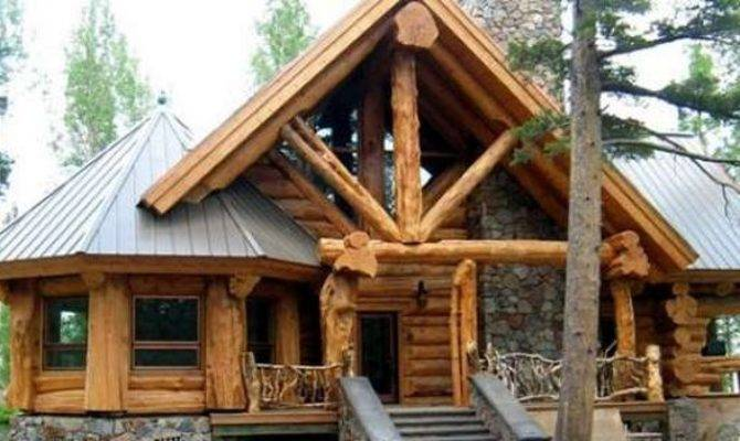 Beautiful Mountain Log Cabin Lovely Interior Cozy