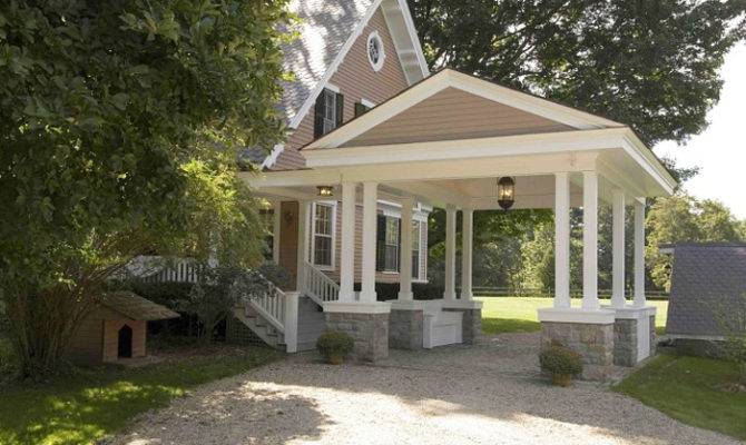 Beautiful Porte Cochere Home Plans Architecture