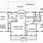 Beautiful Simple Floor Plans Homes One Story House