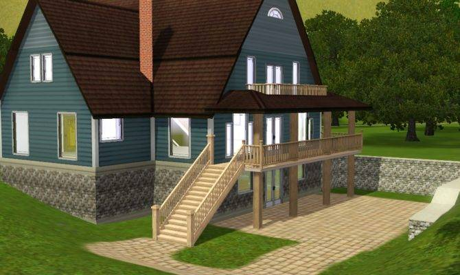 Beautiful Sims House Plan Home Building Plans