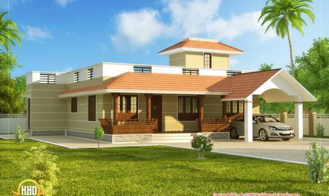 Beautiful Single Story Kerala Model House
