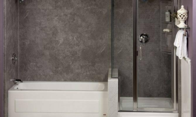 Beautiful Small Bath Separate Tub Shower