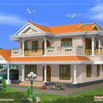 Beautiful Storied House Design Kerala Home
