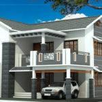 Beautiful Story House Elevation Kerala Home Design