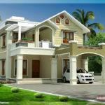 Beautiful Two Floor House Design Kerala Idea