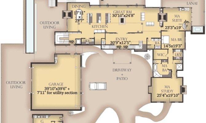 Beautiful Western House Plans Style Floor
