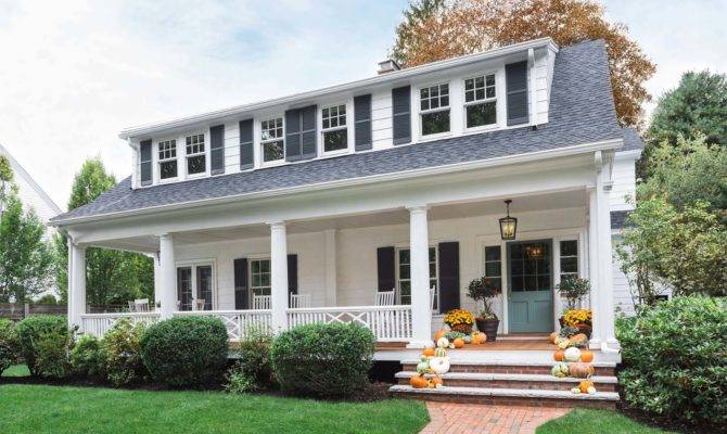 Beautifully Renovated Dutch Colonial Style Home Nestled