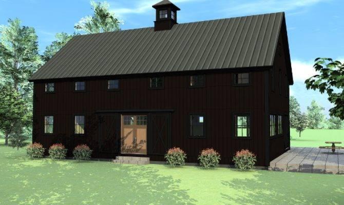 Beauty Black Barns Barn Homes Explored