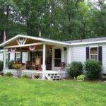 Beauty Front Porch Design Mobile Homes