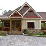 Becomes Two Bedrooms Lake Home Plan Porches Wedowee Retreat