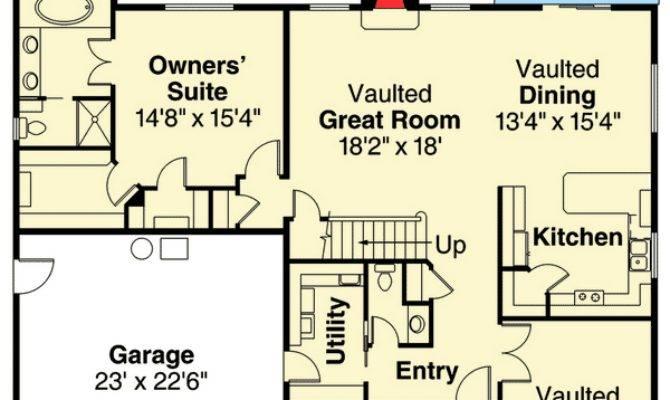 Bed Medium Sized House Plan Floor Master