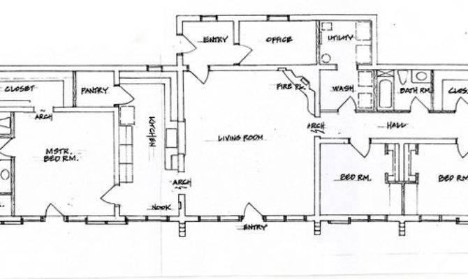 Bedroom Adobe House Plans Plan