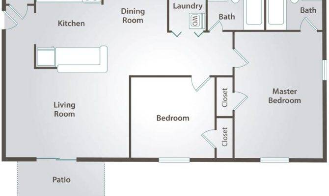 Bedroom Apartment Floor Plans Pricing Collins