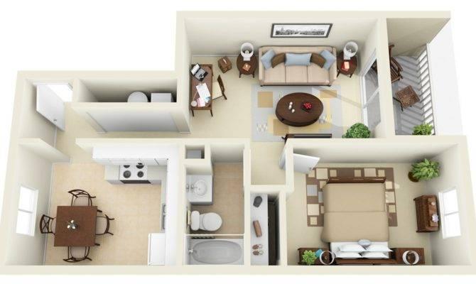 Bedroom Apartment House Plans Selfveda