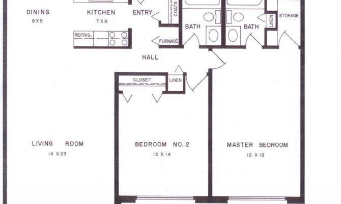Bedroom Apartment Layouts Floor